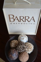 BARRA of Mendocino custom wooden box
